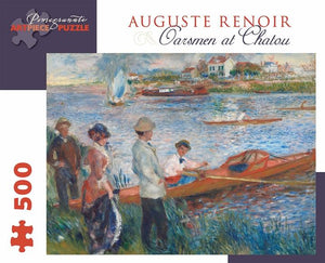 Oarsmen at Chatou by Auguste Renoir 500pc Puzzle