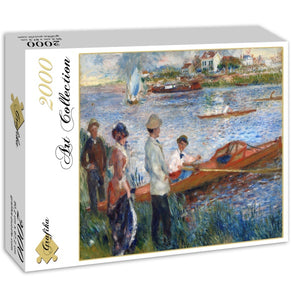 Oarsmen at Chatou, 1879 by Auguste Renoir 2000pc Puzzle