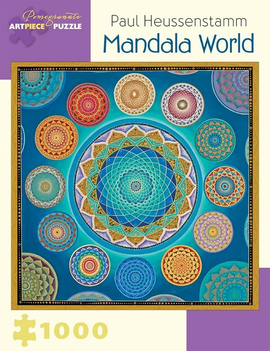 Mandala World by Paul Heussenstamm 1000pc Puzzle