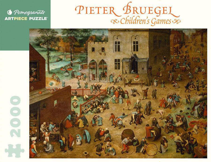 Children's Games by Pieter Bruegel 2000pc Puzzle
