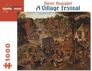 A Village Festival by Pieter Brueghel 1000pc Puzzle