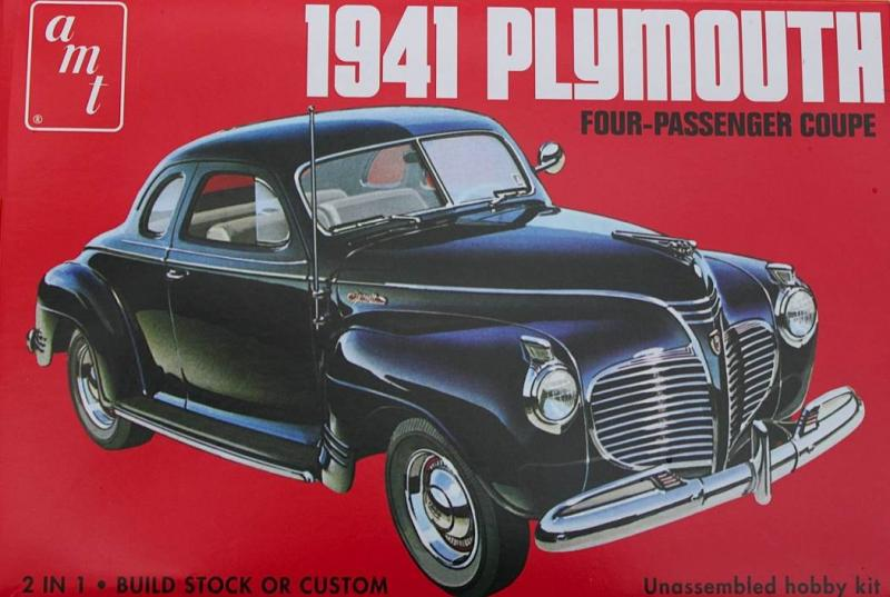 1:25 1941 Plymouth Four-Passenger Coupe