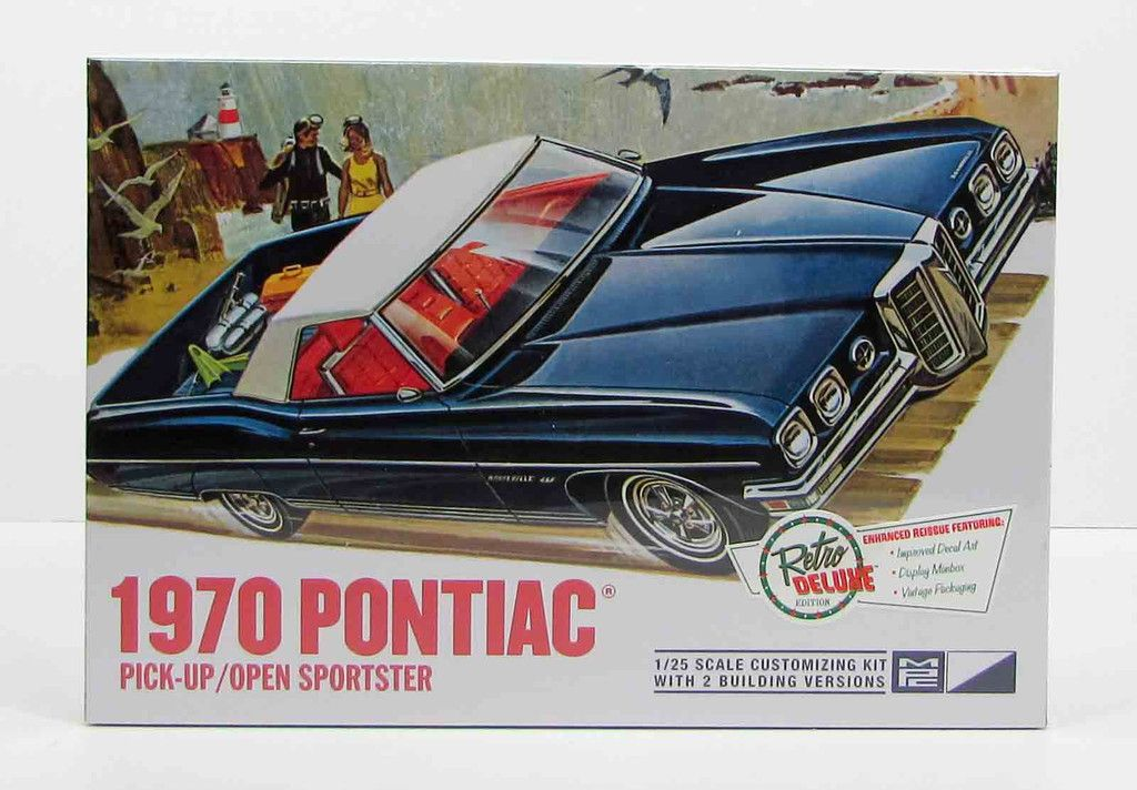 1:25 1970 Pontiac Pick-Up/Open Sportster