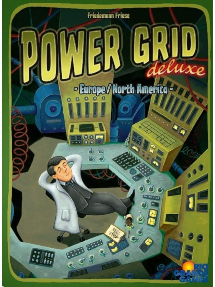 Power Grid: Deluxe (Europe/North America)