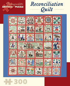 Reconciliation Quilt by Lucinda Ward Honstain 300pc Puzzle