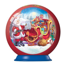 Load image into Gallery viewer, Christmas Puzzle-Ball 56pc 3D Puzzle