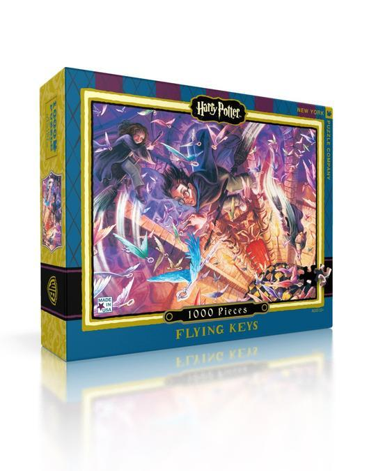 Harry Potter: Flying Keys 1000pc Puzzle