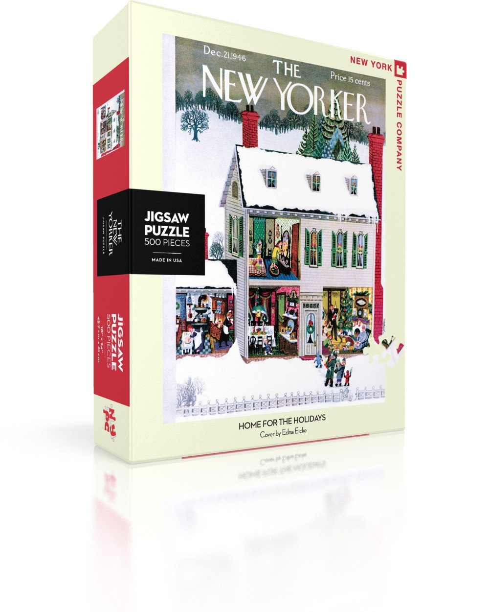 The New Yorker: Home for the Holidays 500pc Puzzle
