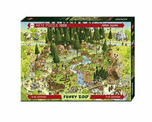 Load image into Gallery viewer, Funky Zoo: Black Forest Habitat 1000pc Puzzle