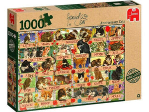 Anniversary Cats by Francien van Westering1000pc Puzzle