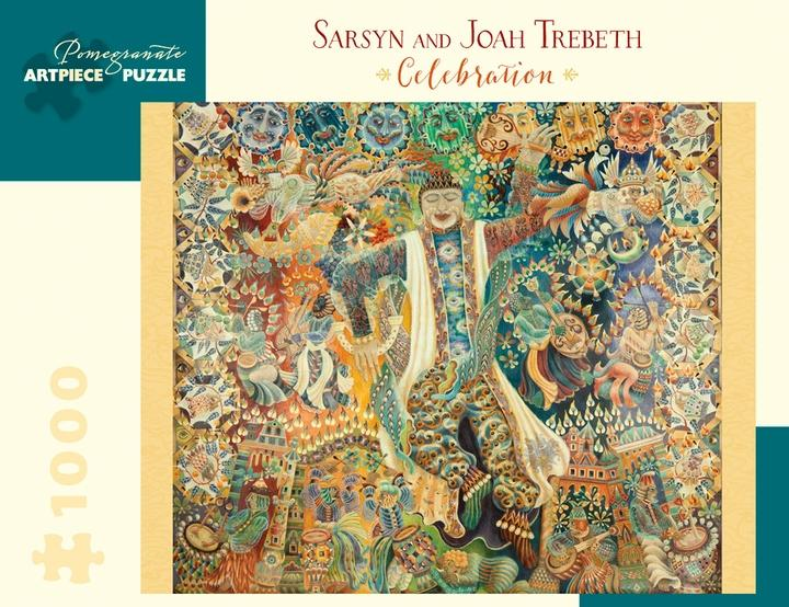 Celebration by Sarsyn and Joah Trebeth 1000pc Puzzle