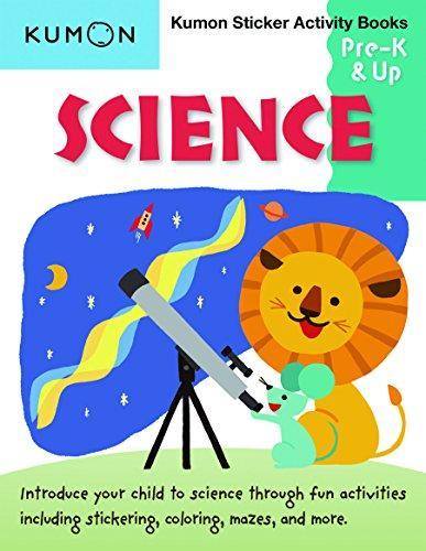 Science - Sticker Activity Book: Pre-K & Up