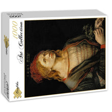 Load image into Gallery viewer, Self-portrait, 1493 by Albrecht Dürer 1000pc Puzzle