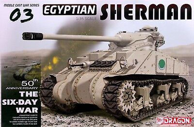 Middle East War Series: 1:35 Egyptian Sherman