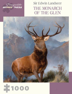 The Monarch of the Glen by Sir Edwin Landseer 1000pc Puzzle