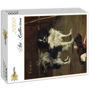 Tama the Japanese Dog, 1875 by Edouard Manet 2000pc Puzzle