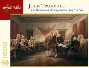 The Declaration of Independence, July 4, 1776 by John Trumbull 1000pc Puzzle