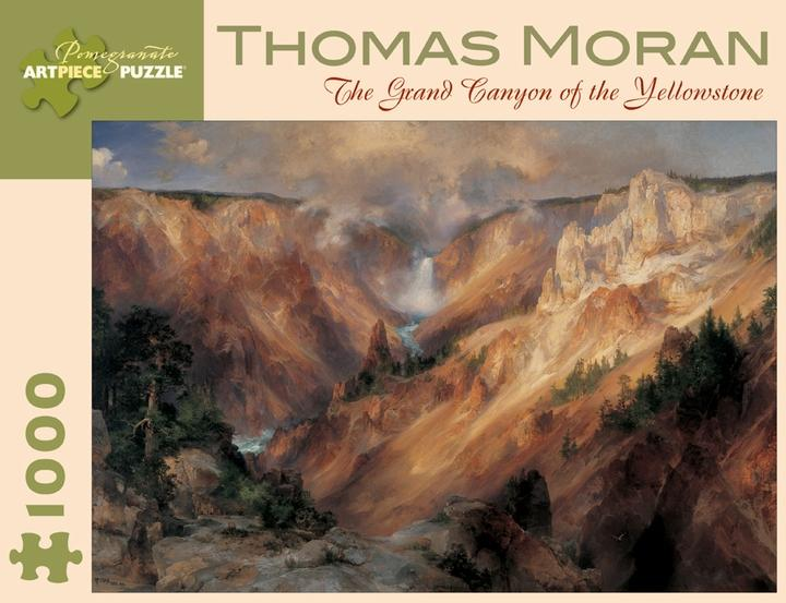 The Grand Canyon of the Yellowstone by Thomas Moran 1000pc Puzzle