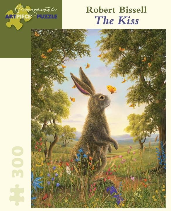 The Kiss by Robert Bissell 300pc Puzzle