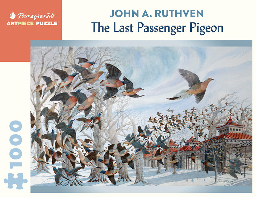 The Last Passenger Pigeon by John A. Ruthven 1000pc Puzzle