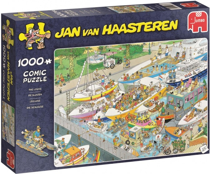 The Locks by JvH 1000pc Puzzle
