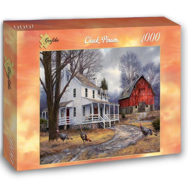 The Way It Used to Be by Chuck Pinson 1000pc Puzzle