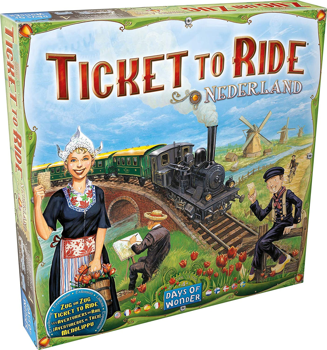 Ticket To Ride Expansion: Nederland