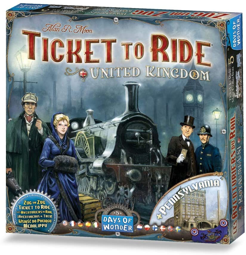 Ticket To Ride Expansion: United Kingdom