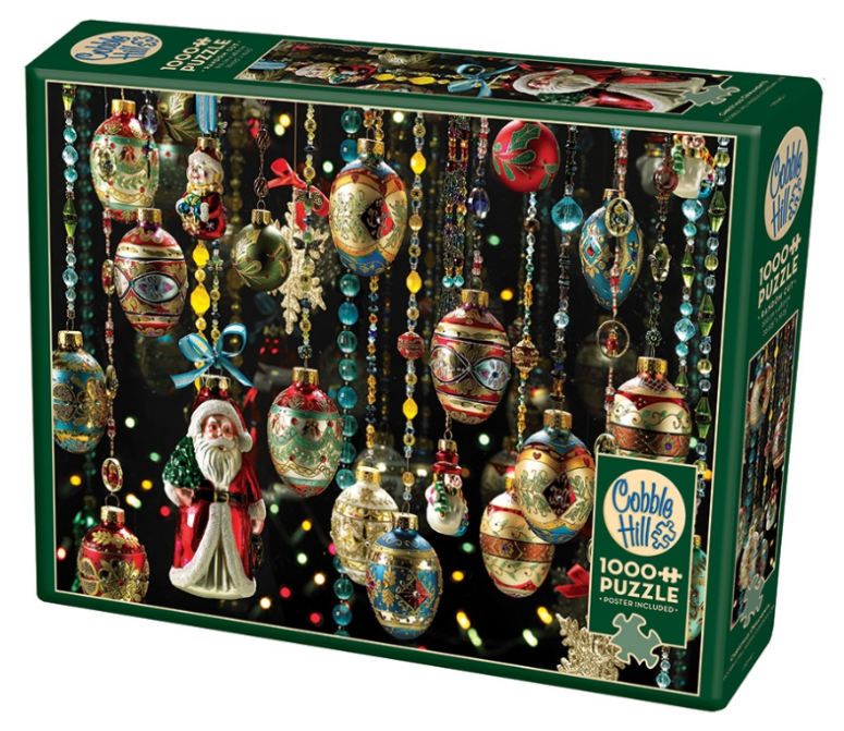 Christmas Ornaments 1000pc Puzzle