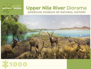 Upper Nile River Diorama 1000pc Puzzle