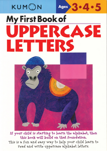 My First Book of Uppercase Letters: Ages 3, 4, 5