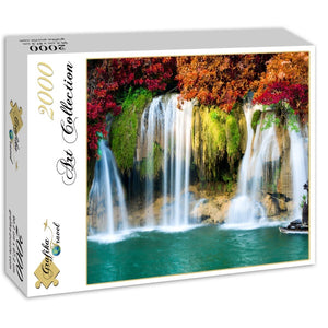 Waterfall in Forest 2000pc Puzzle