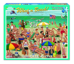 What a Beach! 1000pc Large Format Puzzle