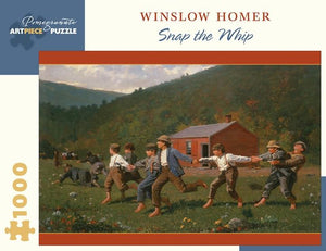 Snap the Whip by Winslow Homer 1000pc Puzzle
