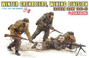 '39-'45 Series: 1:35 Winter Grenadiers, Wiking Division - Eastern Front 1943-45