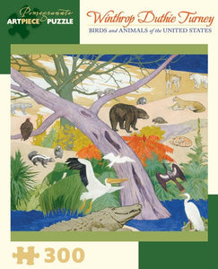 Birds and Animals of the United States by Winthrop Duthie Turney 300pc Puzzle