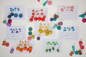 Loose Parts Printables 1: Colour Sorting