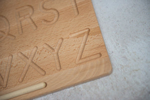 Double-sided Alphabet Tracing Board