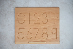 Double-sided Number Tracing Board