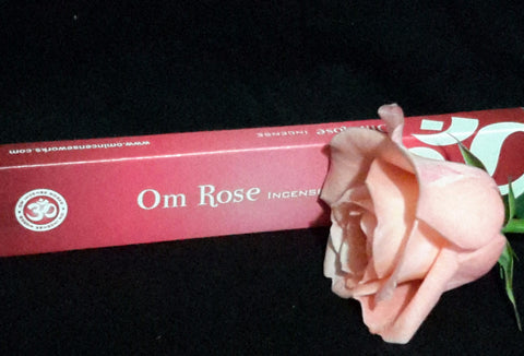 Om Rose Incense
