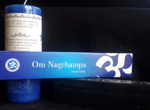Om Nag Champa Incense--40gm