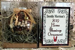Dorothy Morrison's 2019 Special Edition Home Blessings Ornaments