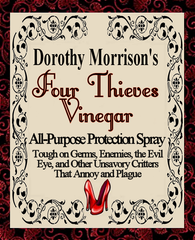Dorothy Morrison's Four Thieves Vinegar Spray