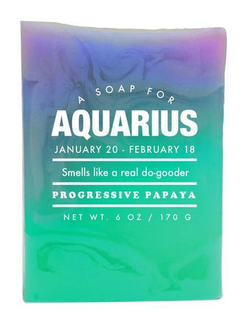 Astrology Soap Aquarius