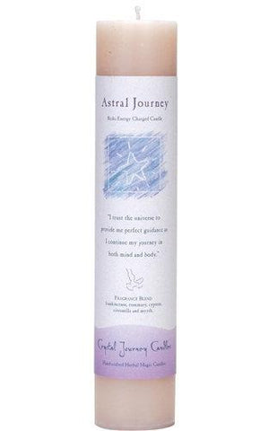 "Astral Journey 1.5"" x 7"" Herbal Magic Pillar"