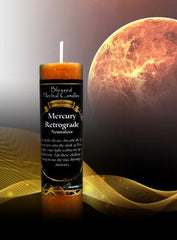 Limited Edition Blessed Herbal Mercury Retrograde Candle