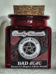 Dorothy Morrison's  Bad JuJu Hexology Jar