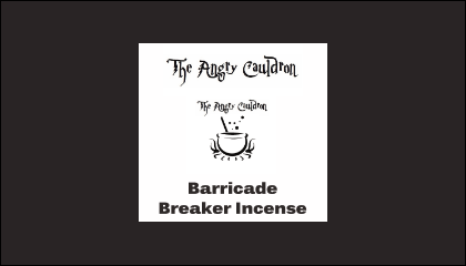 The Angry Cauldron Barricade Breaker Incense