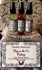 Dorothy Morrison's Mojo on the Go Set Sprays