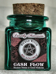 Dorothy Morrison's Cash Flow Hexology Jar